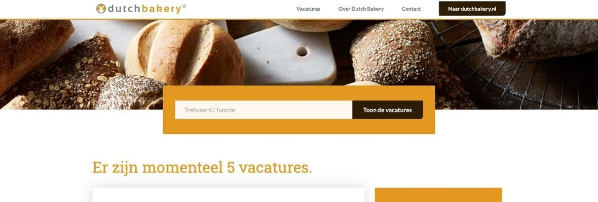 Dutch Bakery Vacature Video